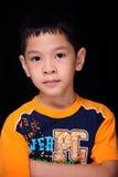 Bambino di sguardo serio Fotografie Stock
