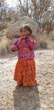 Bambino di Tarahumara Fotografie Stock