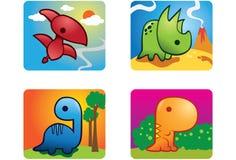 Bambino Dino royalty illustrazione gratis