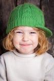 Bambino divertente dello zenzero Immagine Stock