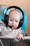 Bambino DJ fotografie stock libere da diritti