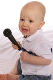 Bambino DJ quattro fotografia stock libera da diritti