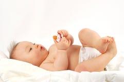 Bambino dopo il bagno #15 immagini stock