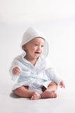 Bambino dopo il bagno Fotografia Stock