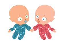 Bambino due Immagine Stock Libera da Diritti