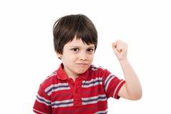 Bambino duro Fotografia Stock Libera da Diritti