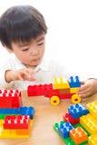Bambino e giocattoli Immagini Stock