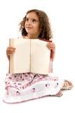 Bambino e libro Fotografie Stock