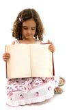 Bambino e libro Fotografia Stock