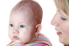 Bambino e madre fotografie stock libere da diritti