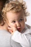 Bambino e madre immagini stock