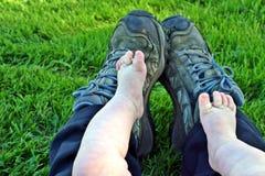 Bambino e me al parco Fotografia Stock Libera da Diritti