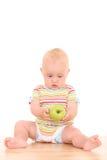 Bambino e mela Immagine Stock Libera da Diritti