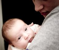 Bambino e momy Immagini Stock Libere da Diritti