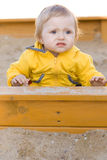 Bambino esterno Fotografia Stock
