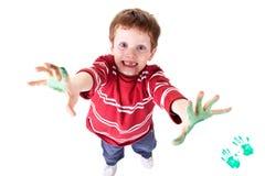 Bambino felice Immagini Stock Libere da Diritti