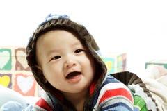 Bambino felice Fotografie Stock Libere da Diritti