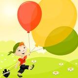 Bambino felice illustrazione vettoriale