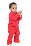 Bambino felice adorabile Fotografia Stock