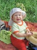 Bambino felice del bambino Immagine Stock