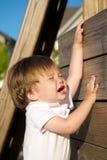 Bambino frustrato Fotografia Stock