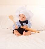 Bambino gastronomico Fotografie Stock