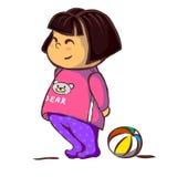 Bambino girl Immagine Stock