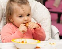 Bambino girl Ritratto consumo cute testa immagine stock