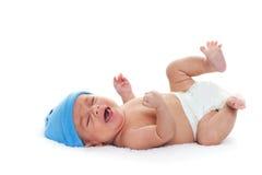 Bambino gridante Immagine Stock