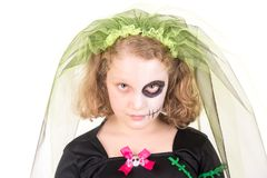 Bambino in Halloween immagini stock libere da diritti