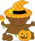 Bambino Halloween Fotografie Stock Libere da Diritti
