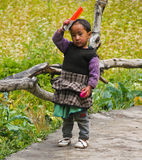 Bambino indù indiano Immagini Stock Libere da Diritti