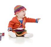 Bambino infantile Fotografia Stock