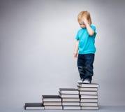 Bambino intelligente Fotografia Stock Libera da Diritti