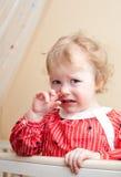 Bambino lacrimoso Fotografia Stock
