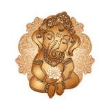 Bambino Lord Ganesha illustrazione di stock
