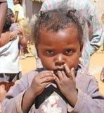 Bambino malgascio Immagine Stock