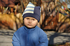 Bambino Mucky Fotografia Stock