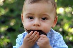 Bambino naturale Fotografie Stock Libere da Diritti