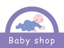 Bambino - negozio Fotografie Stock