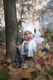Bambino nella sosta immagini stock libere da diritti
