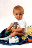 Bambino nello studio Immagini Stock