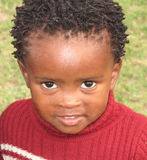 bambino nero fotografia stock libera da diritti