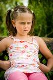 Bambino offensivo Fotografie Stock Libere da Diritti