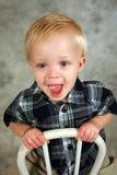 Bambino pazzesco fotografia stock libera da diritti
