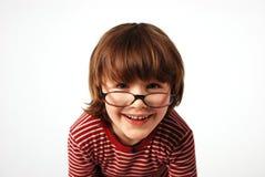 Bambino pazzesco Fotografie Stock
