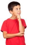 Bambino Pensive immagine stock libera da diritti
