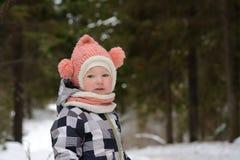 Bambino per una camminata immagini stock