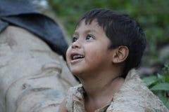 Bambino peruviano Immagine Stock