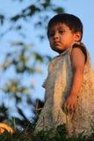 Bambino peruviano Immagini Stock